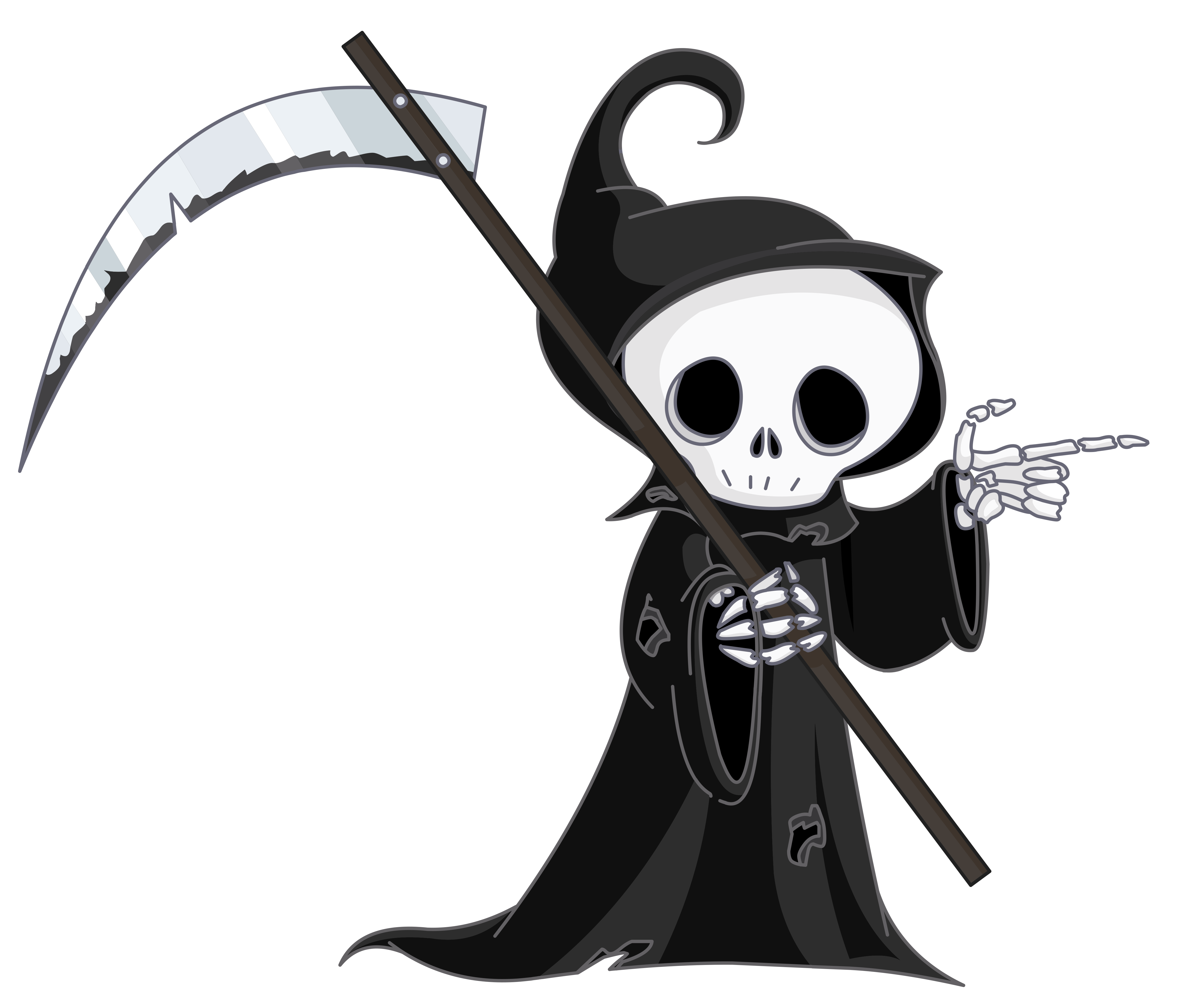 Grim Reaper PNG Clipart. View .