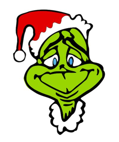 grinch wreath | Free Christmas Clip Art from the Public Domain | Wreaths | Pinterest | The ou0026#39;jays, The grinch and Clip art