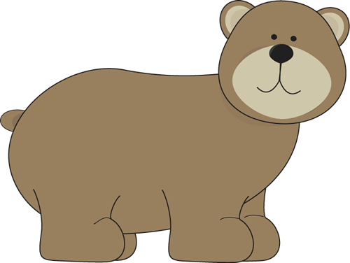 Grizzly Bear - Bear Clipart Images