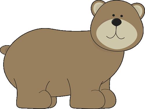 Grizzly Bear - Clip Art Bear