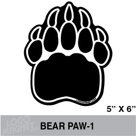 Grizzly Bear Paw Print Clipart .-Grizzly Bear Paw Print Clipart .-17