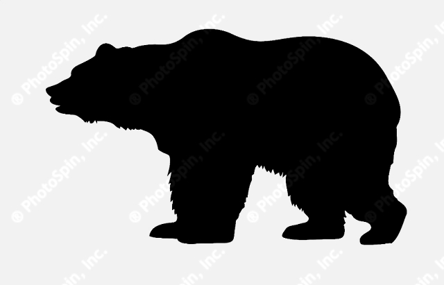 Grizzly Bear Silhouette Vector Clipart P-Grizzly Bear Silhouette Vector Clipart Panda Free Clipart Images-13