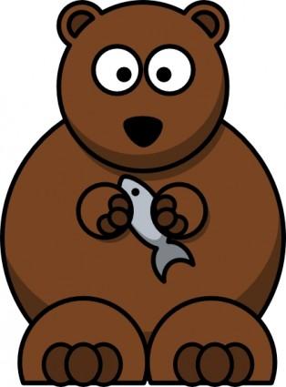 Grizzly Bear Silvertip Bear Clipart Grap-Grizzly bear silvertip bear clipart graphics free clip art 3-11