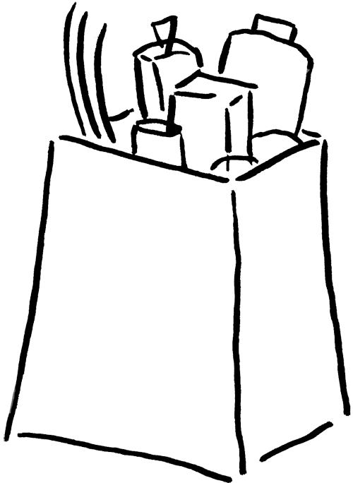 Groceries Clip Art