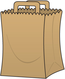Grocery Bag Clip Art-Grocery Bag Clip Art-8