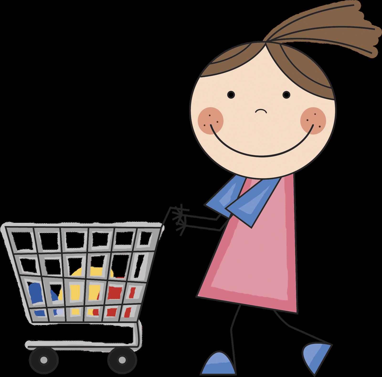 Grocery Shopper Clipart Best