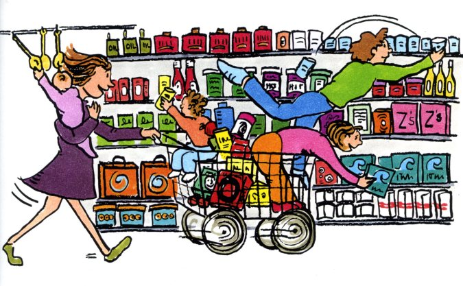 Grocery store clipart free - ClipartFest