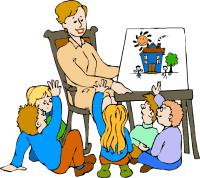 Groovy Educator Circle Time . Teacher_cl-Groovy Educator Circle Time . teacher_clipart_10-12