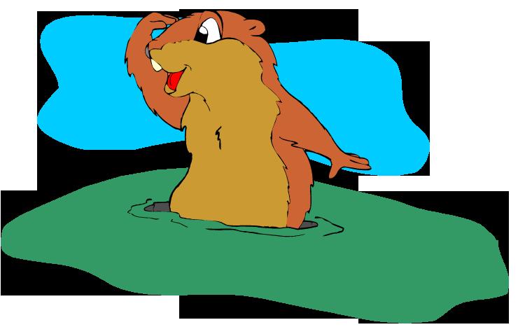Groundhog Clipart-groundhog clipart-9