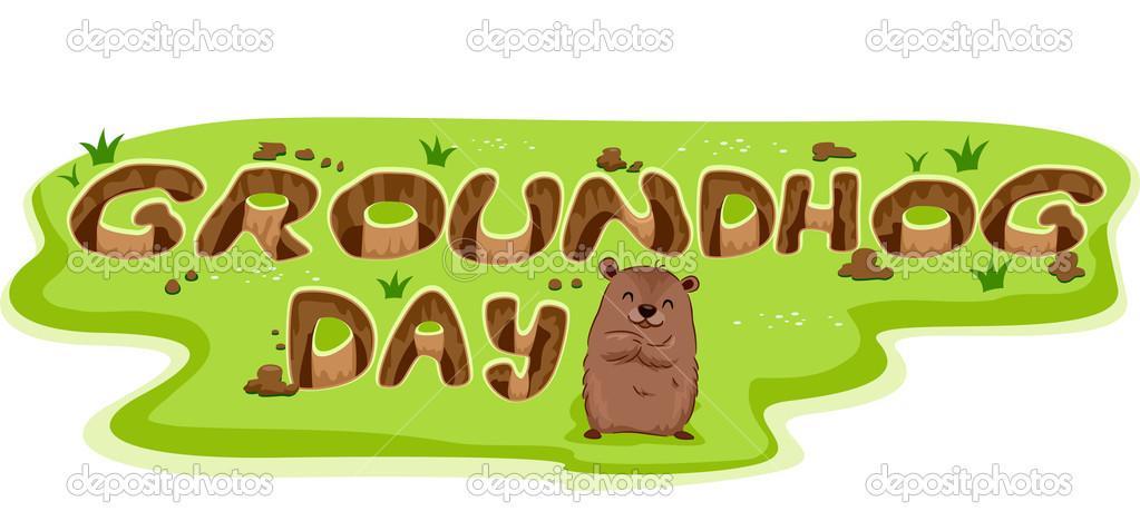 Groundhog Day Clip Art-groundhog day clip art-18