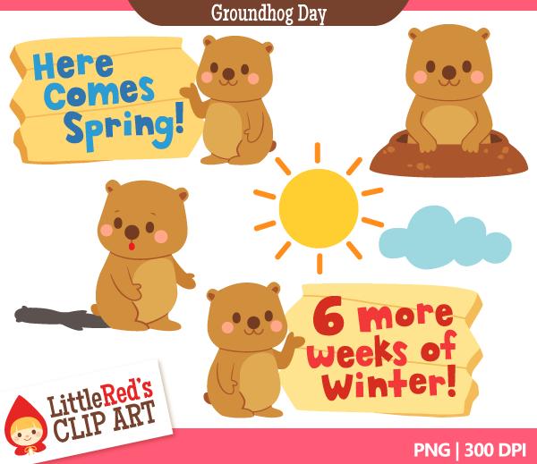 Groundhog Day Clipart Groundhog Day Clip-Groundhog Day Clipart Groundhog Day Clip Art-12