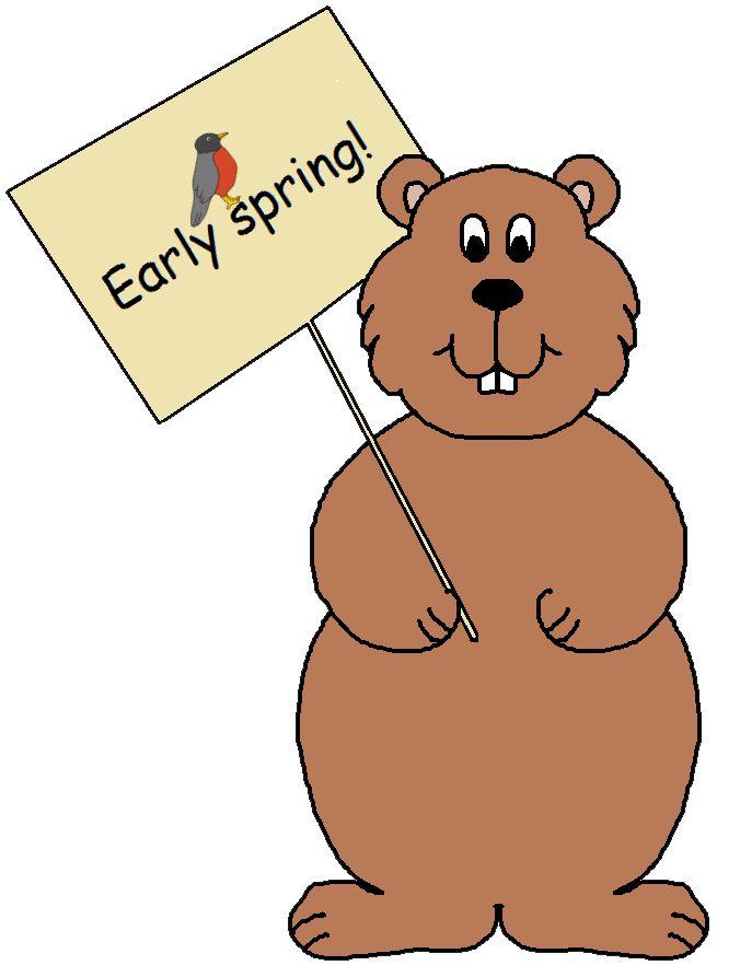 Groundhog Day Clipart-Groundhog day clipart-17