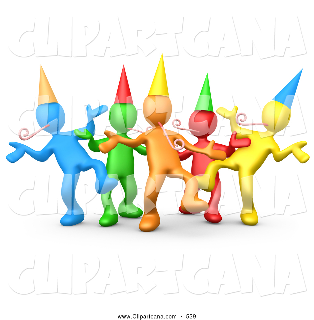 Group Celebration Clipart #1