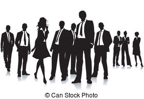 Group of business people .
