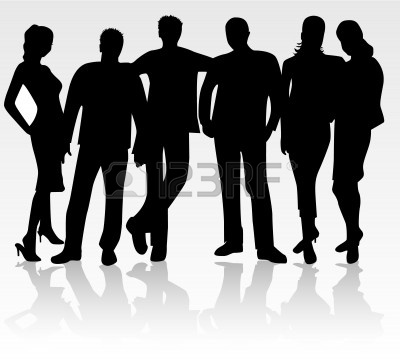 Group Of Friends Clipart