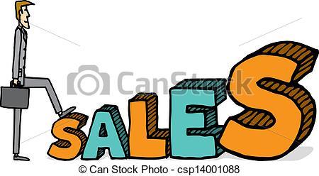 Growing sales - csp14001088