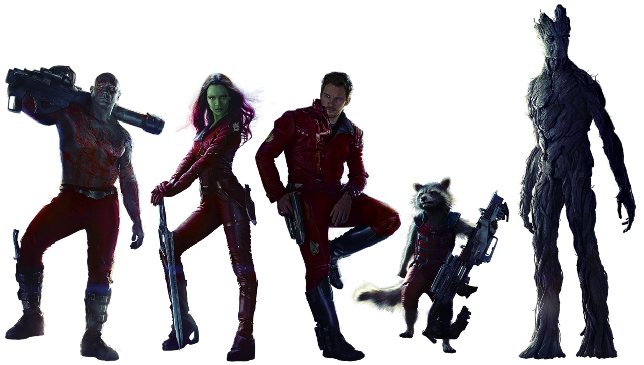 Guardians of The Galaxy Transparent Back-Guardians of The Galaxy Transparent Background-7