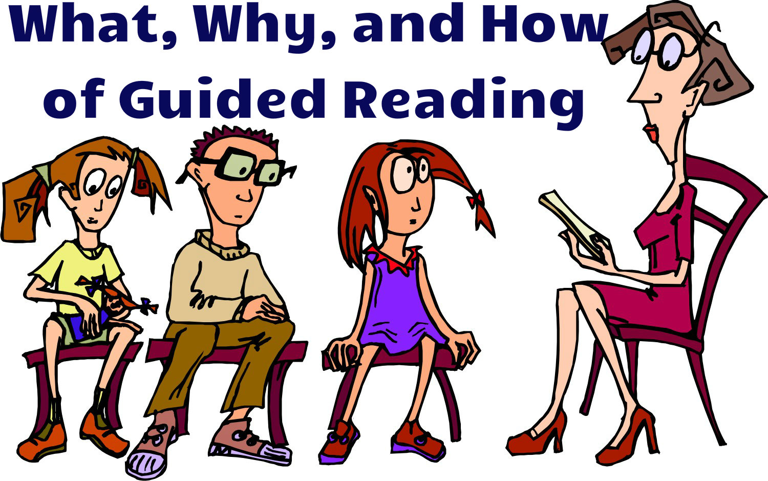 Guided Reading Clip Art