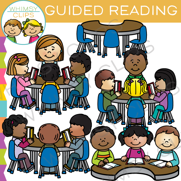 Guided Reading Group Clip Art