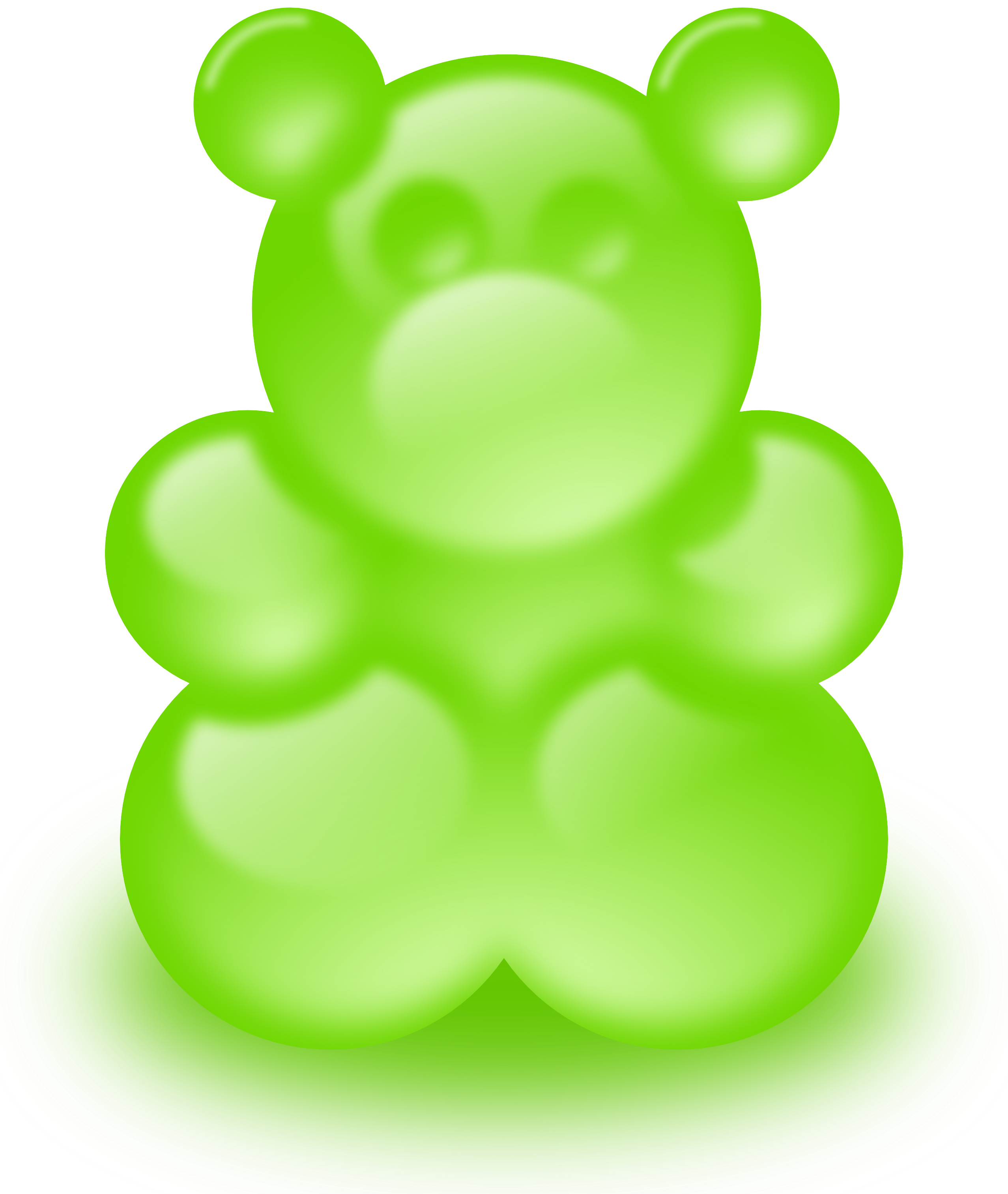 Gummy Bear Clipart #1