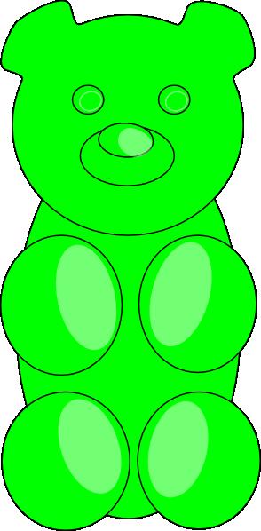Gummy Bear Outline Clip Art at Clker clipartall.com - vector clip art online, royalty free u0026amp; public domain