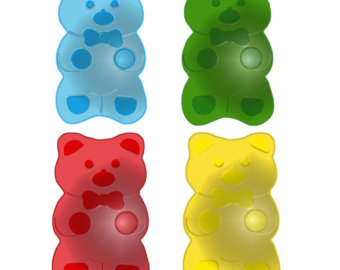 Gummy Bears Clipart Gummy Bear Etsy