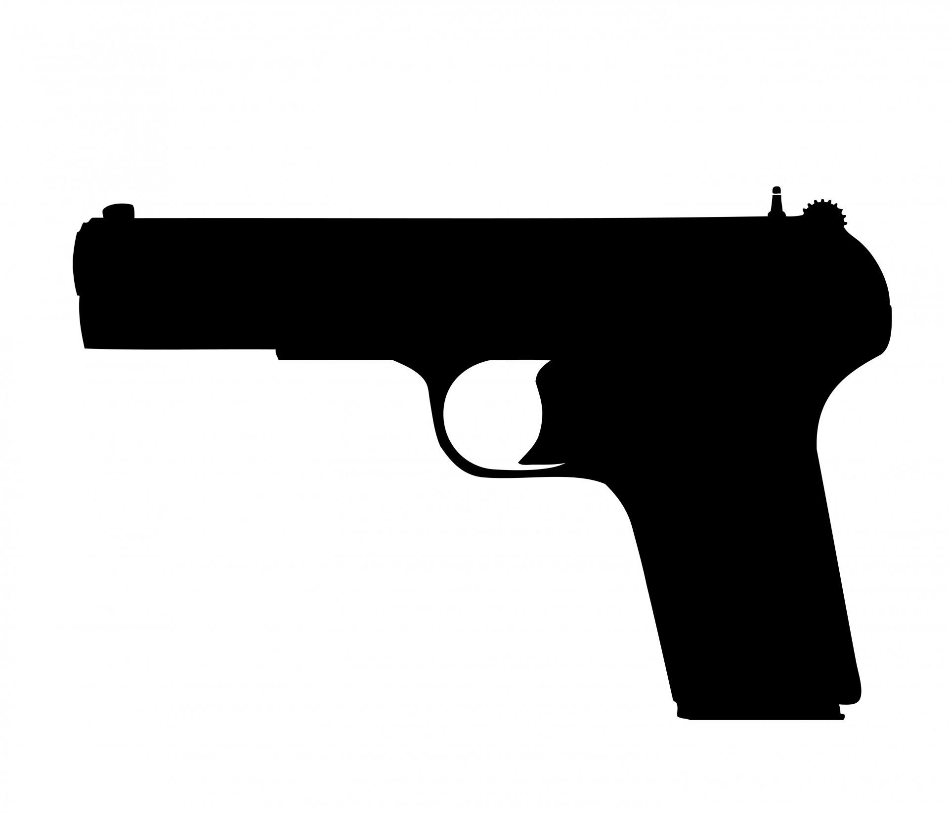 Gun, Pistol Clipart Free Stoc - Weapons Clipart