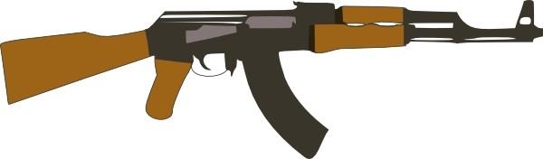 Gun Vector Clip Art Free .-Gun vector clip art Free .-7