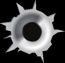 Bullet Clipart gunshot
