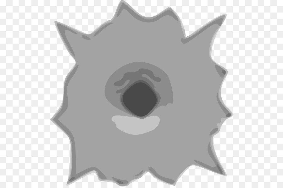 Bullet Gunshot Clip art - Bullet Hole