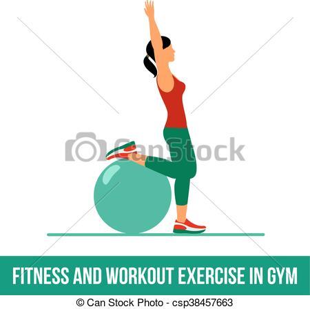 Ball exercise - csp38457663