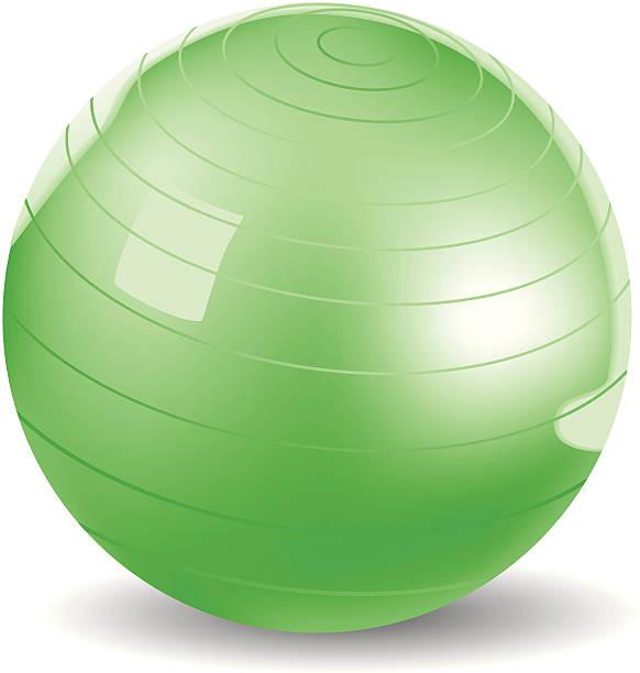 Exercise Ball Vector vector art illustration