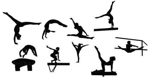 Gymnast Clip Art-Gymnast Clip Art-1