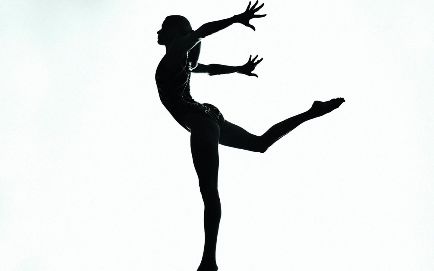 gymnastics clipart black and white