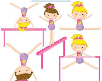 gymnastics clipart tumbling