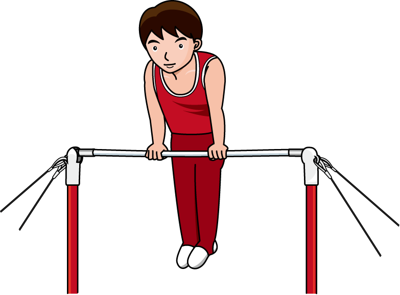Gymnastics Bars Clip Art