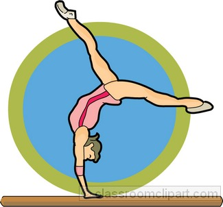 Gymnastics Clip Art-Gymnastics Clip Art-6