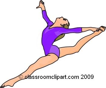 Gymnastics Clip Art-Gymnastics Clip Art-7