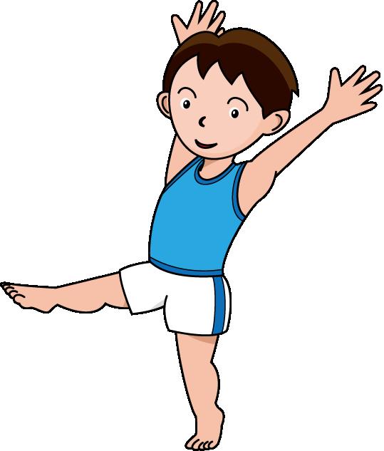 Gymnastics Clip Art-Gymnastics Clip Art-9