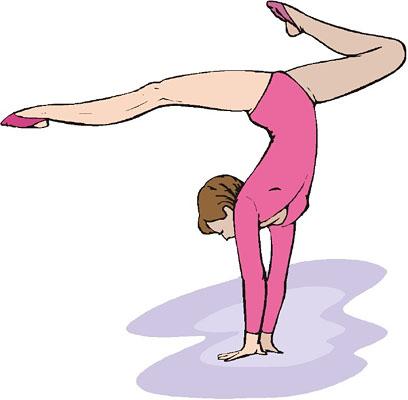 Gymnastics Clip Art-Gymnastics Clip Art-8