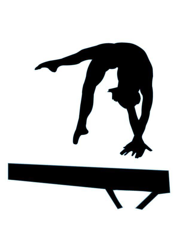 Gymnastics clipart boy on balance beam g-Gymnastics clipart boy on balance beam gymnastic clipart-11