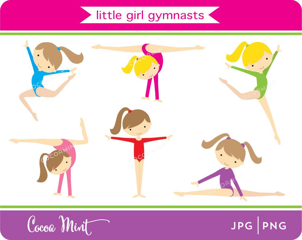 Gymnastics Clipart .