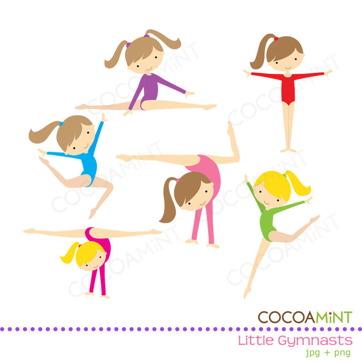 Gymnastics Clipart Image .