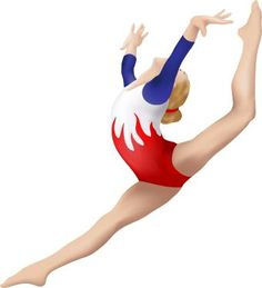 Gymnastics clipart on gymnastics clip art and my daughter