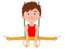 Gymnastics Rings Clipart Size: 75 Kb-Gymnastics Rings Clipart Size: 75 Kb-16
