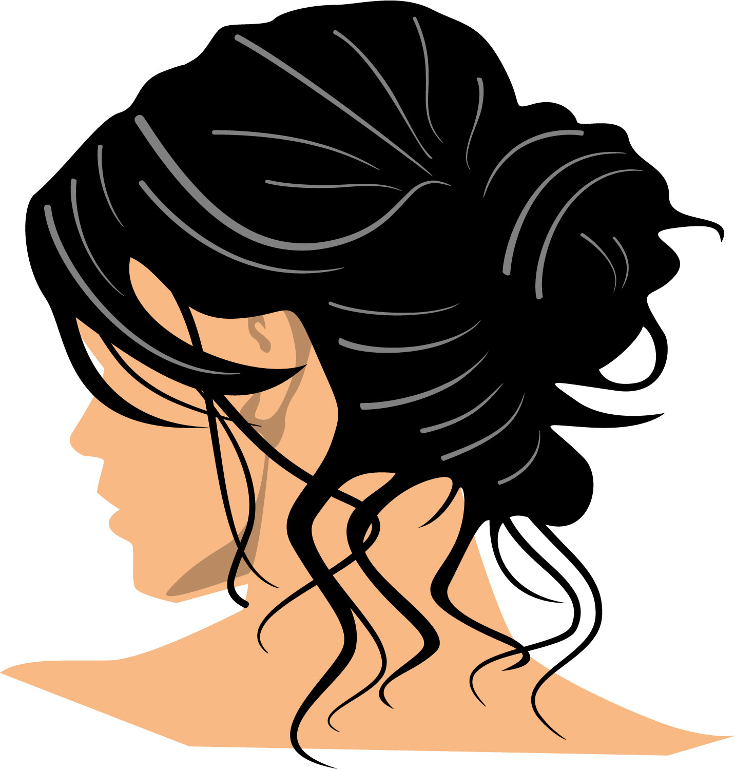 Hair Clipart - Clipartion clipartall.com