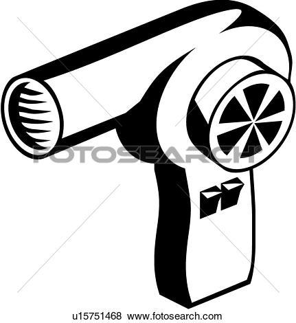 hair dryer, appliance,. ValueClips Clip Art