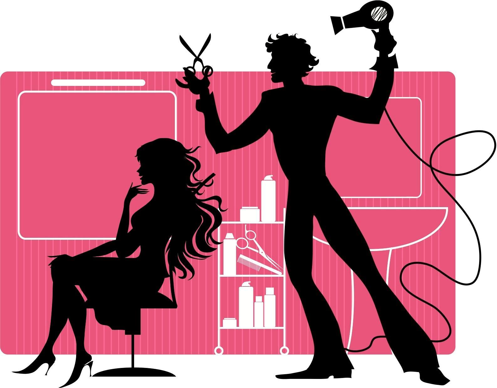Hair Salon Clip Art u0026amp; Hair Salon Clip Art Clip Art Images .