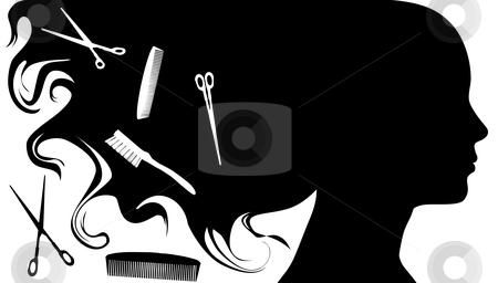 Hair Salon Pictures Clip Art | Hair Styl-hair salon pictures clip art | Hair Style Beauty Salon Background A stock vector clipart,-9
