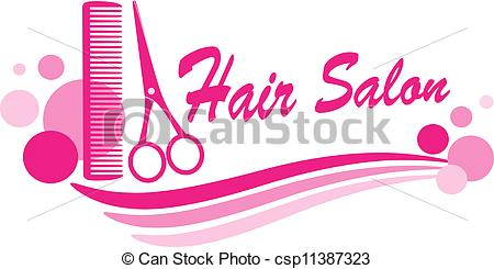 ... hair salon sign with scissors - pink hair salon sign with... ...